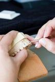 ortodonta żeński działanie Fotografia Royalty Free