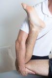 Ortodonta fund noga Zdjęcia Stock