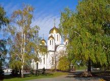 ortodosso fine della chiesa Fotografia Stock Libera da Diritti