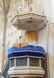 Ortodox教会在阿尤德,特兰西瓦尼亚,罗马尼亚 库存照片