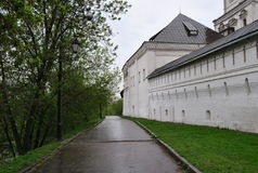 ortodox andronikovkloster Arkivbild