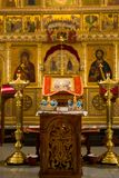 Ortodox bröllopceremoniel Royaltyfria Bilder