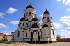 ortodox caprianamoldova kloster Arkivfoto