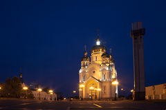Ortodox cathedral in Khabarovsk, Russia Royalty Free Stock Photography