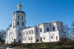 Ortodox christian ancient cathedral Royalty Free Stock Photo