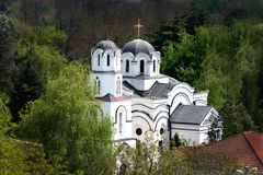 Ortodox chuch in Macedonia Stock Photography