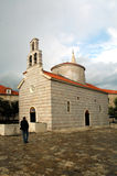 Ortodox Church. Old ortodox church in old town Budva, Montenegro royalty free stock image