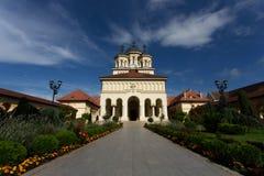 Ortodox church in Alba Iulia, Romania Stock Photo