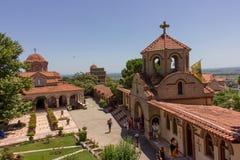 Ortodox church Holy Greece Monastery Stock Photography