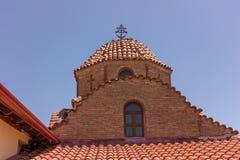 Ortodox church Holy Greece Monastery Royalty Free Stock Image