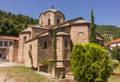 Ortodox church Holy Greece Monastery Stock Images