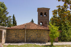Ortodox church Holy Greece Monastery Royalty Free Stock Images