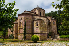 Ortodox church Holy Greece Monastery Deonisiy Stock Images