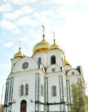 Ortodox church in Krasnodar Stock Photos