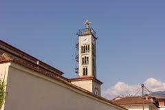 Ortodox church in Leptokaria, Greece. Stock Photos