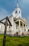 Ortodox church in Maramures , Romania Stock Photo