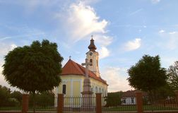 Beautiful Ortodox Church. Ortodox Church - Novi Becej - Vojvodina - Serbia - Europe Stock Photos