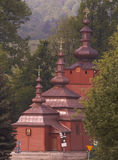 Ortodox church -  - poland - wysowawysowa Royalty Free Stock Images