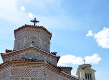 Ortodox church,in Prespa,Macedonia. Stock Image