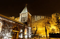 Ortodox church Ruzica in Kalemegdan fortress Royalty Free Stock Photo