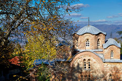Ortodox church. St.Pantelejmon, Skopje,Macedonia Stock Image