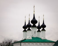 Ortodox church in Suzdal, Russia Royalty Free Stock Image