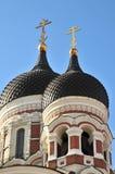 Ortodox church Tallin Royalty Free Stock Photos