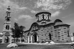 Ortodox church and tower Royalty Free Stock Photos