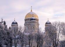 Ortodox domkyrka Fotografering för Bildbyråer