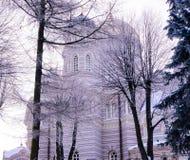 Ortodox domkyrka Arkivfoton