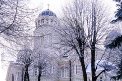 Ortodox domkyrka Royaltyfri Fotografi