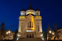 Ortodox domkyrka, Cluj-Napoca Royaltyfri Bild