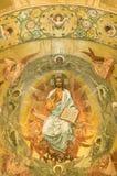 ortodox fresco arkivfoto