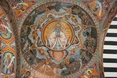 ortodox fresco Arkivbild