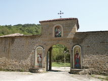ortodox ingång Royaltyfria Bilder