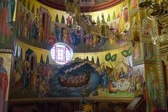 Ortodox-Kirche, die Israel - 23. März 2018 malt Lizenzfreies Stockbild