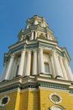 Ortodox klockstapel för kristen kyrka arkivfoto