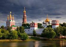 ortodox kloster Arkivfoto