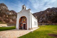 ortodox kloster Royaltyfri Fotografi