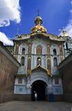 Ortodox kloster av Kieven-Pechersk Lavra Royaltyfria Bilder