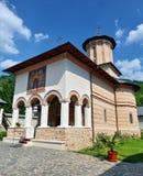 Ortodox kloster från Polovragi Royaltyfria Bilder