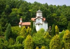 Ortodox kloster Kaona Arkivfoton