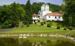 Ortodox kloster Kaona Royaltyfria Bilder