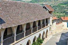 Ortodox kloster på Cypern Royaltyfria Foton