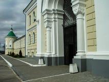 Ortodox kloster Tikhonova Pustyn i den Kaluga regionen (Ryssland) Royaltyfri Bild