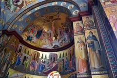 Ortodox kościół wnętrze Obrazy Stock