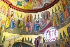 Ortodox kościelny maluje Izrael, Marzec - 23, 2018 Zdjęcie Royalty Free