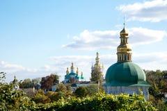 ortodox kristen historisk kloster arkivbild