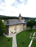 Ortodox kristen kloster Arkivbild
