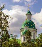 Ortodox kristen kloster Royaltyfri Foto